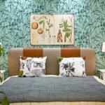 Linne bed plants