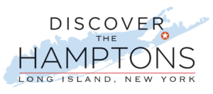 Discover the hamptons logo